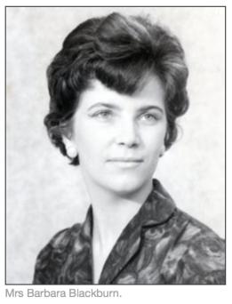 1968 Barbara Blackburn, matron Coatshill House