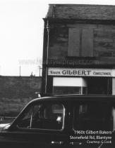 1960s Gilbert the Bakers on Stonefield Road