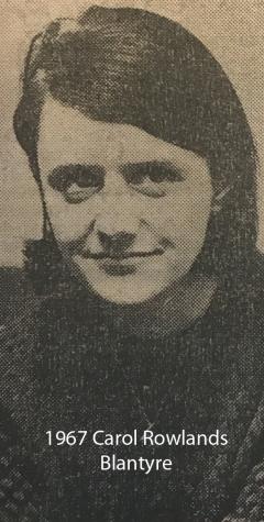 1967 Carol Rowlands