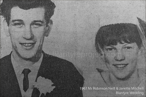 1967 Robinson Neil and Janette Mitchell wm