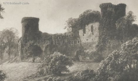 1880s Bothwell Castle wm