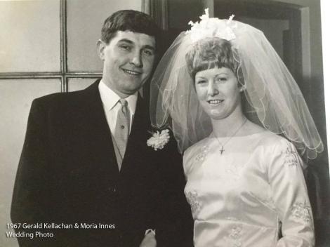 1967 Gerald Kellachan & Moira Innes wm