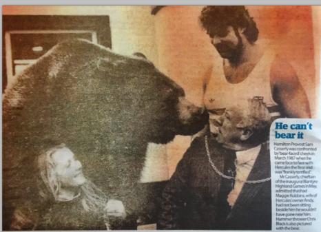 1987 Hercules the Bear