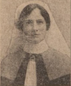 1917 Miss Margaret M Houston, Blantyre
