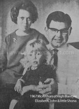 1967 McArthur Family at 6 Greenhall Pl