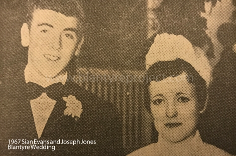 1967 Sian Evans and Joseph Jones wm