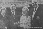 1967 Gavin Taylor & Alex Paterson at Bowling Club
