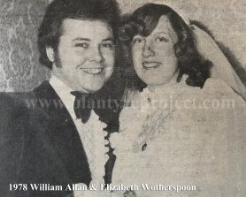 1978 Elizabeth Wotherspoon & William Allan