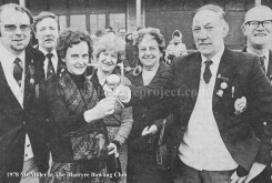 1978 Mr Miller at Miners Welfare Bowling