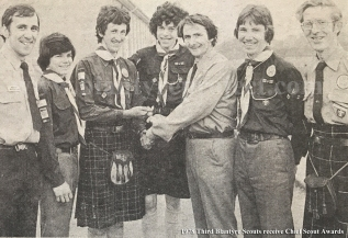 1978 Third Blantyre Scouts