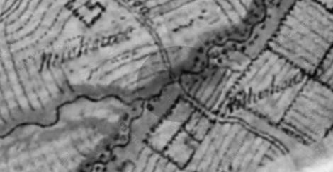 1752 Roys map