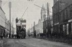 1903 Tram passes Turners Buildings