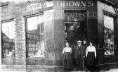 1920 Brown's Ironmongery shop