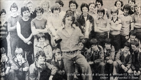 1978 Tom McPake & Blantyre Accies wm