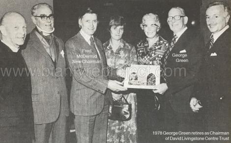1978 George Green retires DLT wm