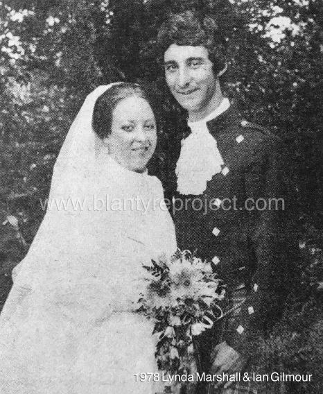 1978 Lynda Marshall & Ian Gilmour