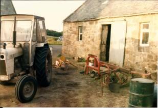 1980s Calderside Farm, from Jim Cochrane