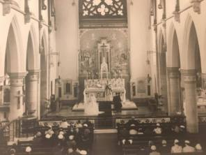 1957 Doyle - Mullen Wedding at St Josephs Church