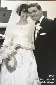 1968 Patricia Whyte (Glasgow) & Michael Rouse (Blantyre)