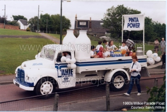 1985 Wilkie's Float shared by S Wilkie