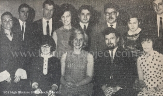 1968 High Blantyre SNP (Jim Kennedy chairperson seated)