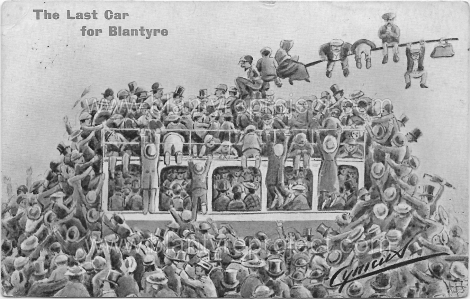 1907 last car for blantyre wm