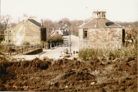 1962 Removal of Hunthill Rail bridge 2 wm
